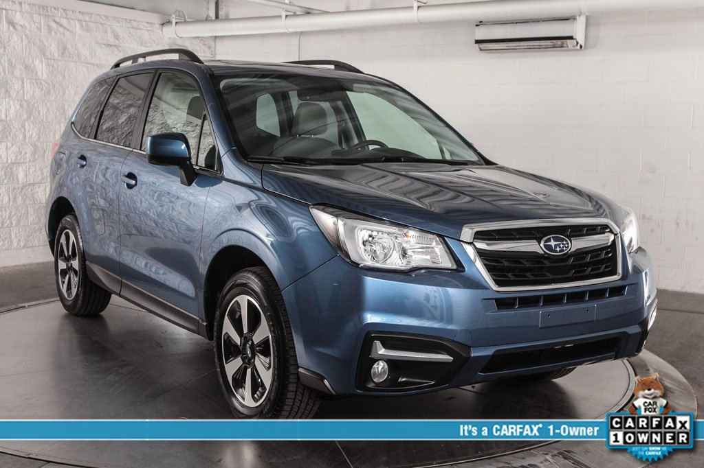 Photo Certified Pre-Owned 2018 Subaru Forester 2.5i Limited Navigation System  Audio w Harman Kardon Amplifi With Navigation  AWD