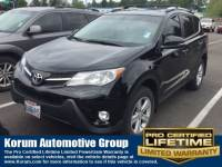 Used 2013 Toyota RAV4 XLE SUV I-4 cyl for Sale in Puyallup near Tacoma