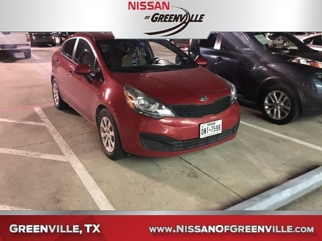 Photo Used 2013 Kia Rio LX Sedan for Sale in Greenville, TX