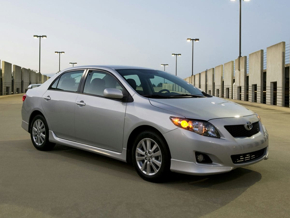 Photo Pre-Owned 2009 Toyota Corolla S Sedan For Sale  Raleigh NC
