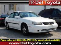 Used 1997 Chevrolet Malibu 4DR SDN LS For Sale | Serving Thorndale, West Chester, Thorndale, Coatesville, PA | VIN: 1G1ND52T9VY109704