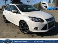 Used 2012 Ford Focus Titanium Leather, Navigation, Sunroof Front Wheel Drive 4 Door Car