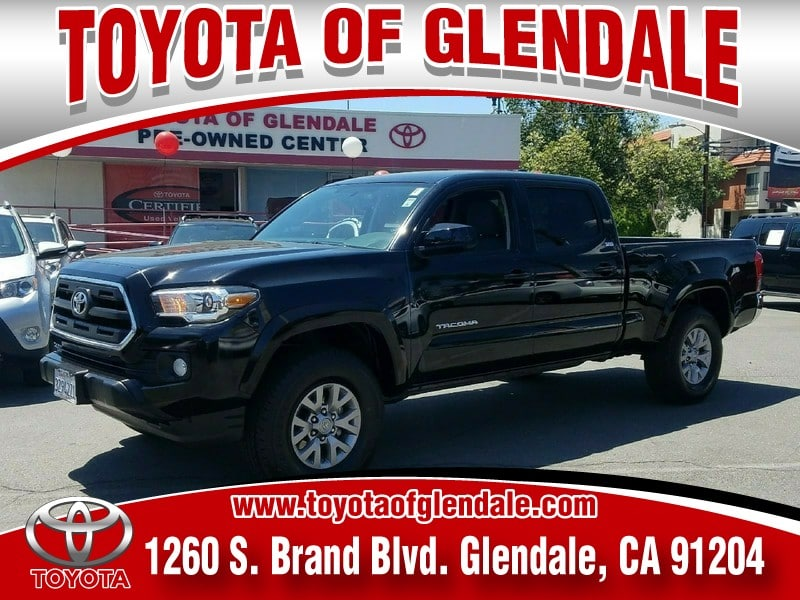 Photo Used 2016 Toyota Tacoma 4WD Double CAB LB V6 AT SR5 For Sale  Glendale CA  Serving Los Angeles  3TMDZ5BN3GM006184