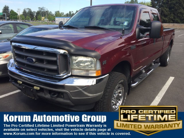 Photo Used 2004 Ford F-250SD XLT Truck V10 EFI for Sale in Puyallup near Tacoma