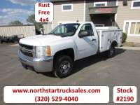 Used 2007 Chevrolet 2500 4X4 Service Utility Truck