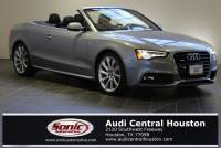 Certified Used 2015 Audi A5 2.0T Premium (Tiptronic) Convertible in Houston, TX