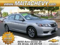 Used 2014 Honda Accord LX Available in Elk Grove CA