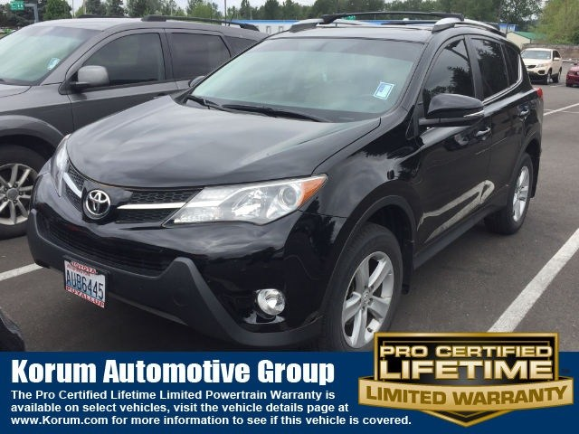 Photo Used 2013 Toyota RAV4 XLE SUV 4-Cylinder DOHC Dual VVT-i for Sale in Puyallup near Tacoma