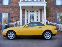 1999 Mercedes-Benz SLK-Class GORGEOUS YELLOW 2-owners 5-speed manual LOW MILES