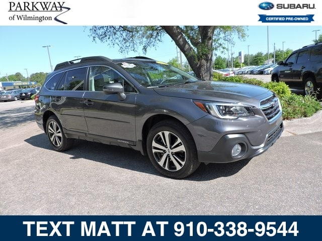 Photo Certified Used 2018 Subaru Outback 2.5i Limited For Sale  Wilmington NC