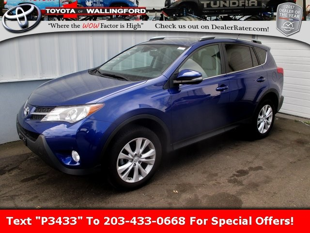 Photo Used 2015 Toyota RAV4 Limited For Sale in Wallingford CT  Get a Quote
