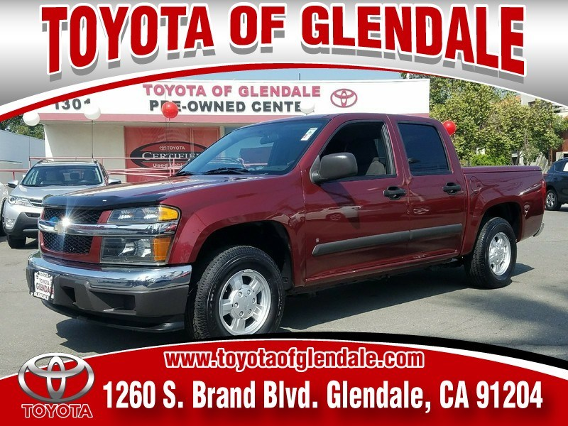 Photo Used 2007 Chevrolet Colorado, Glendale, CA, , Toyota of Glendale Serving Los Angeles  1GCCS139878127162