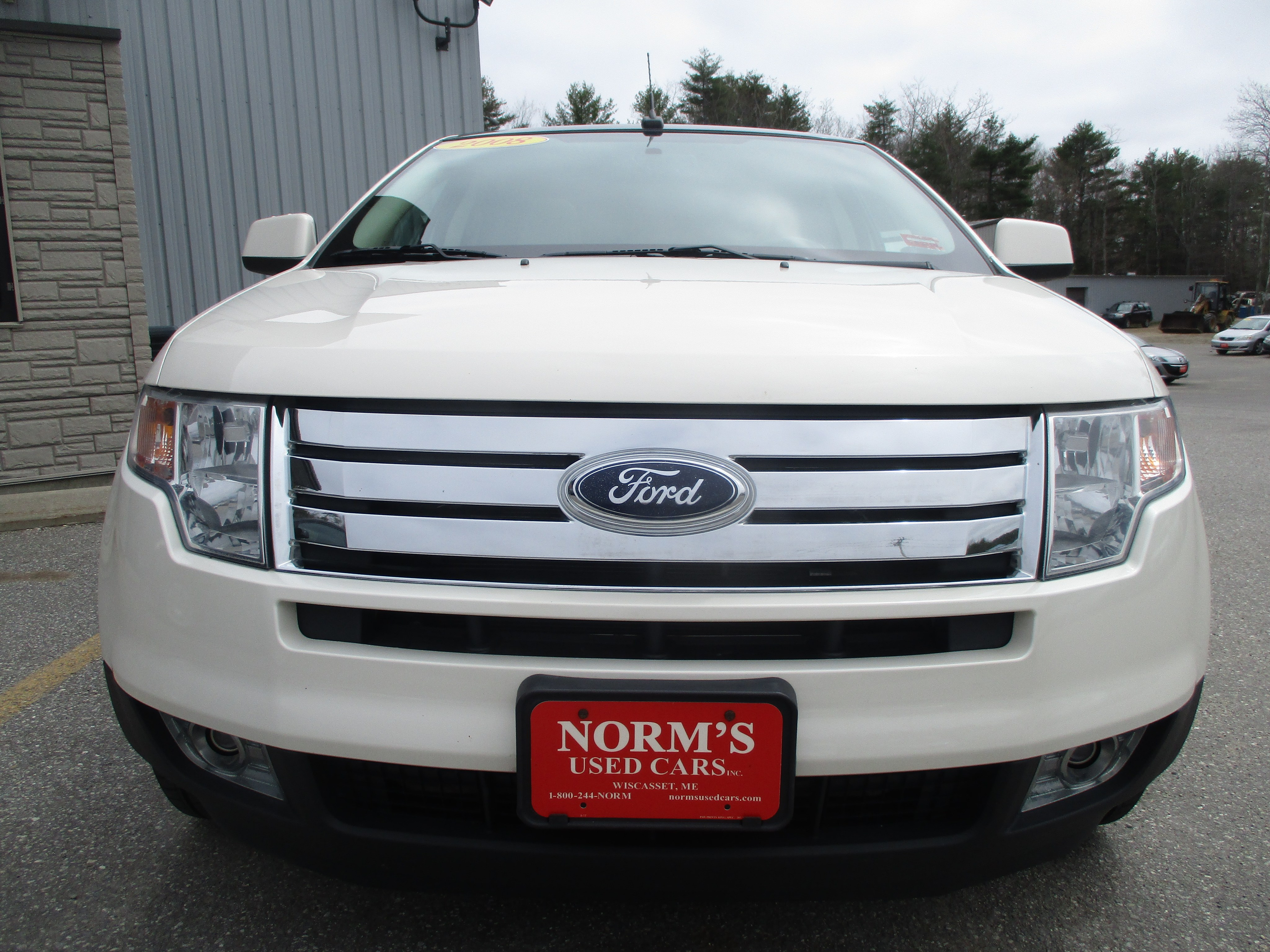 Photo Used 2008 Ford Edge For Sale  Wiscasset ME