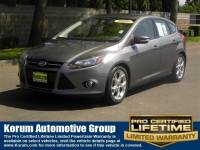 Used 2014 Ford Focus Titanium Hatchback 4-Cylinder DGI DOHC for Sale in Puyallup near Tacoma