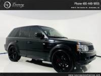 2010 Land Rover Range Rover Sport Lux HSE LUX | 22 Custom Wheels | Rear Camera | Luxury Package | 11 12 With Navigation