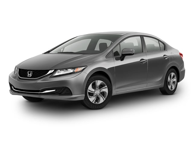 Photo Used 2015 Honda Civic LX Sedan CVT Front-wheel Drive in Chicago, IL