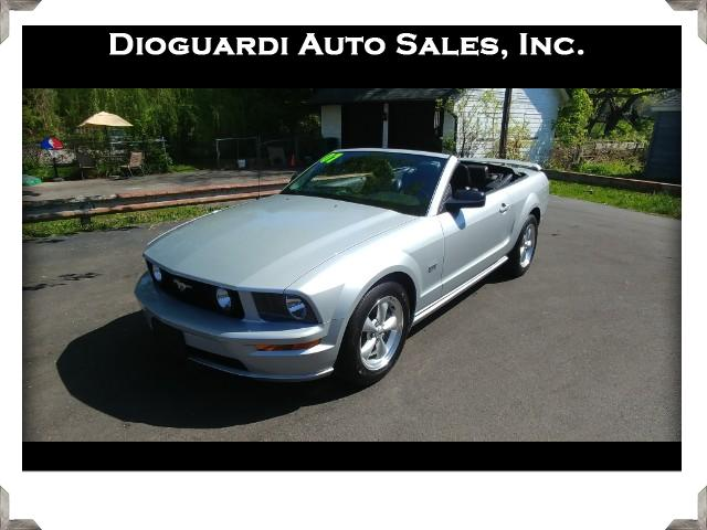 Photo 2007 Ford Mustang GT Deluxe Convertible