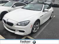 Certified Used 2015 BMW 6 Series 640i xDrive Convertible in Lancaster