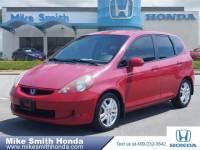 Pre-Owned 2008 Honda Fit Base Front Wheel Drive Sedan