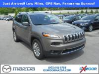 Pre-Owned 2017 Jeep Cherokee Limited with Navigation & 4WD