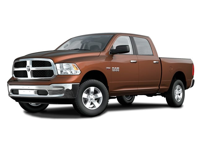 Photo Used 2014 Ram 1500 BIG HORN Truck Crew Cab for sale in Barstow CA