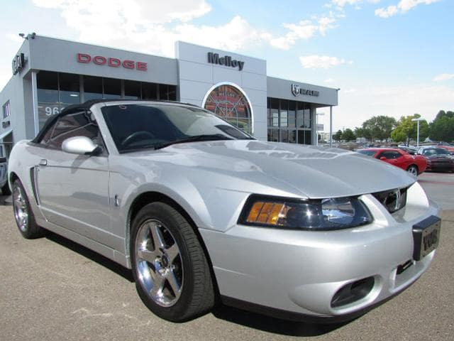 Photo Used 2004 Ford Mustang Cobra Convertible for SALE in Albuquerque, NM