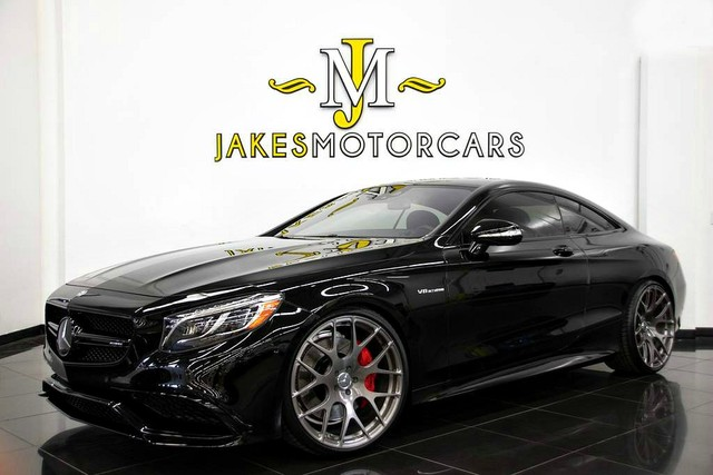 Photo 2015 Mercedes-Benz S-Class S63 AMG DESIGNO COUPEONE-OF-A-KIND