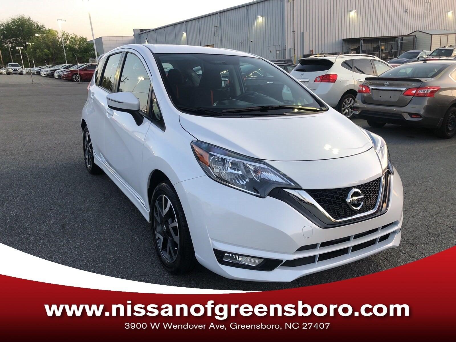 Photo Certified 2017 Nissan Versa Note SR Hatchback in Greensboro NC