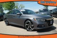 Pre-Owned 2018 Honda Accord Sedan Sport Front Wheel Drive 4dr Car For Sale in Greeley, Loveland, Windsor, Fort Collins, Longmont, Colorado