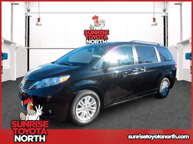 Photo Certified Used 2014 Toyota Sienna XLE Van For Sale on Long Island, New York