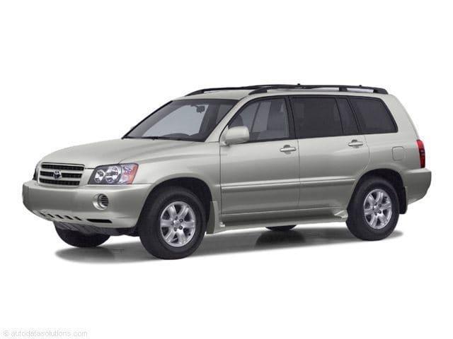 Photo 2003 Toyota Highlander All-wheel Drive