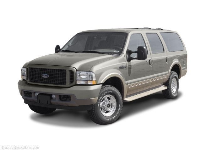 Photo Used 2003 Ford Excursion Eddie Bauer SUV Power Stroke V8 DI 16V OHV Turbodiesel in Red Hill, PA