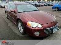 2005 Chrysler Sebring Limited Coupe V6 SOHC 24V