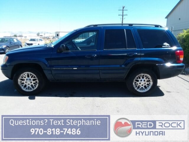 Photo Used 2002 Jeep Grand Cherokee Limited SUV for Sale in Grand Junction, CO