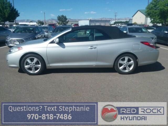 Photo Used 2006 Toyota Camry Solara SE Convertible for Sale in Grand Junction, CO