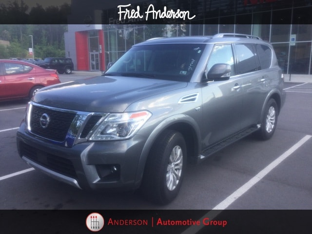 Photo Pre-Owned 2017 Nissan Armada SV SUV For Sale  Raleigh NC