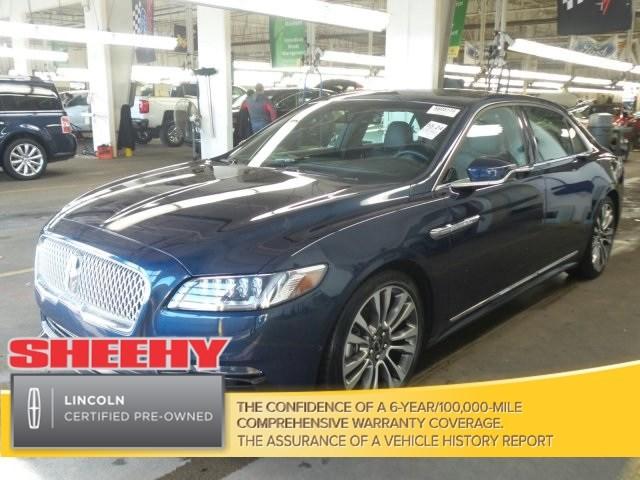 Photo Certified 2017 Lincoln Continental Reserve Sedan V-6 cyl in Richmond, VA
