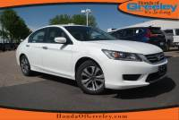 Pre-Owned 2015 Honda Accord Sedan LX Front Wheel Drive 4dr Car For Sale in Greeley, Loveland, Windsor, Fort Collins, Longmont, Colorado