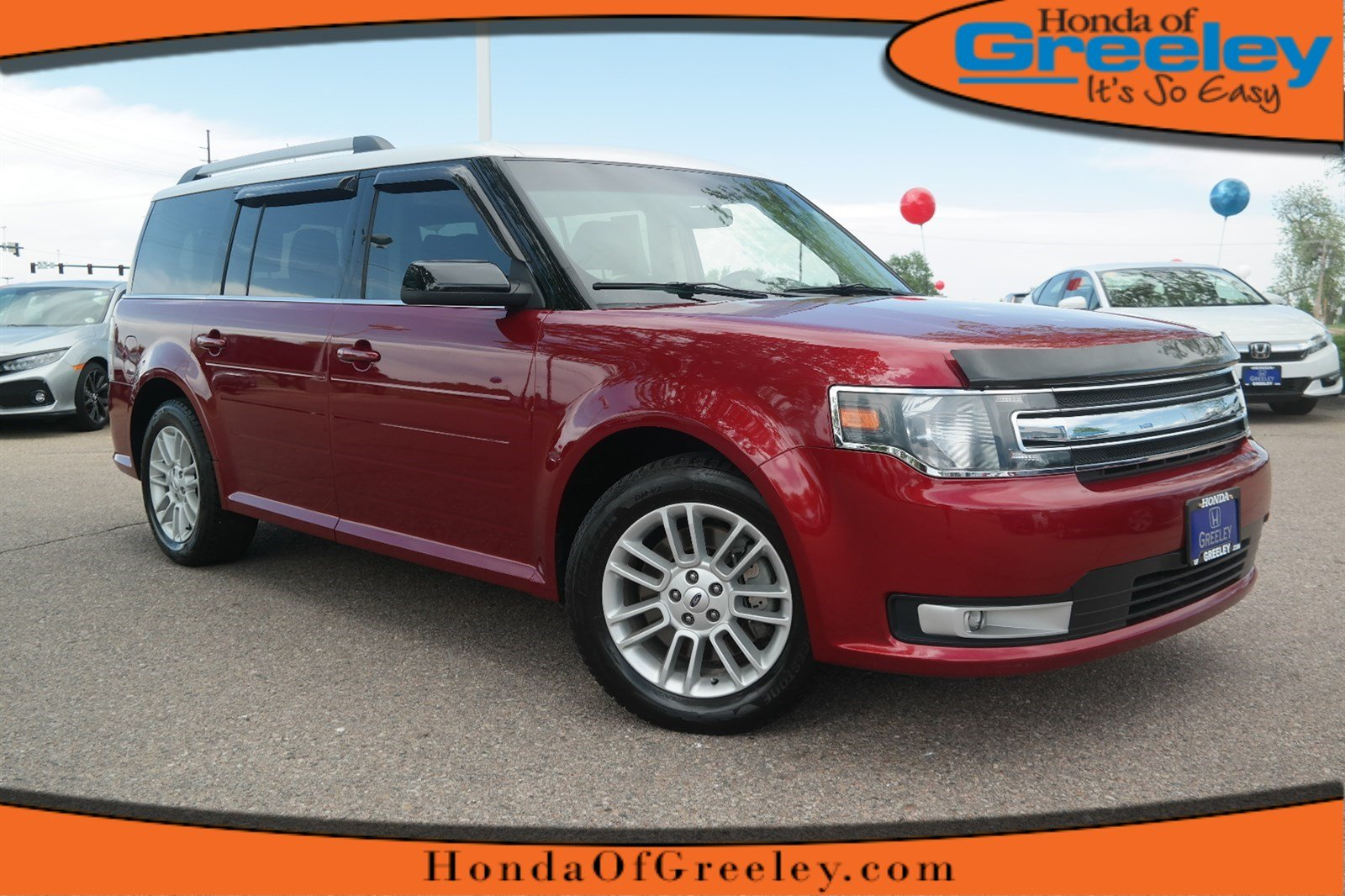 Photo Pre-Owned 2014 Ford Flex SEL All Wheel Drive Sport Utility For Sale in Greeley, Loveland, Windsor, Fort Collins, Longmont, Colorado