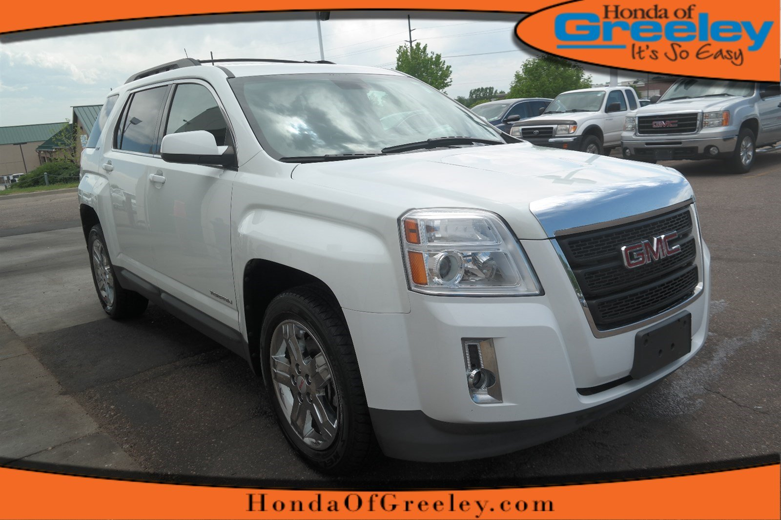Photo Pre-Owned 2012 GMC Terrain SLT-1 All Wheel Drive Sport Utility For Sale in Greeley, Loveland, Windsor, Fort Collins, Longmont, Colorado