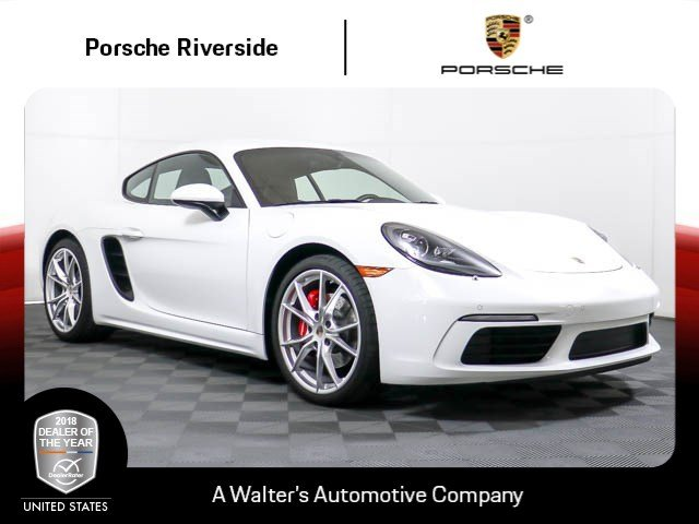 Photo Certified Pre-Owned 2017 Porsche 718 Cayman S