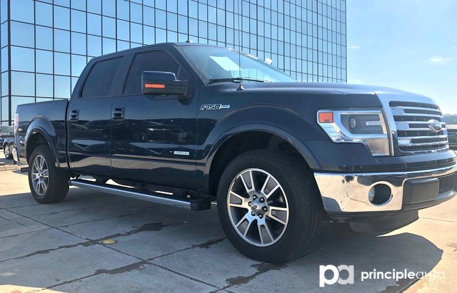 Photo Used 2014 Ford F-150 XLT, Alloy Wheels, Leather Seats, Power Seats, Hea Truck SuperCrew Cab For Sale San Antonio, TX