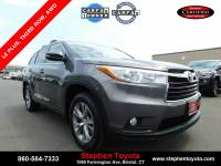 Certified Pre-Owned 2015 Toyota Highlander LE Plus V6 in Bristol, CT