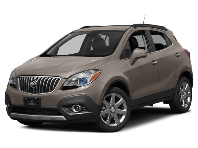 Photo 2015 Certified Used Buick Encore SUV Convenience Cocoa Silver For Sale Manchester NH  Nashua  StockPL5887