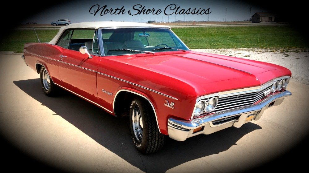 Photo 1966 Chevrolet Impala -SUPERSPORT- CONVERTIBLE - BIG BLOCK 454 - SEE VIDEO
