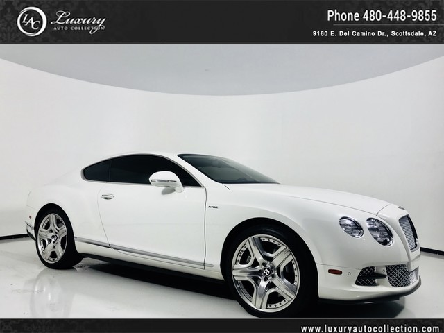 Photo 2013 Bentley Continental GT Speed Full Carbon Fiber Ext Trim  Mulliner Int  WhiteWhite  14 15 All Wheel Drive Coupe