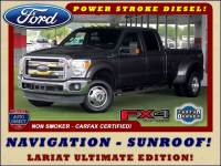 2015 Ford Super Duty F-350 DRW Pickup LARIAT ULTIMATE Crew Cab Long Bed 4x4 FX4