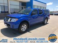 Pre-Owned 2013 Nissan Frontier SV 4WD 4D Crew Cab