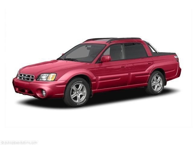 Photo Used 2005 Subaru Baja Turbo with Leather Pkg For Sale in Doylestown PA  Serving Jenkintown, Sellersville  Feasterville  4S4BT63C255100597