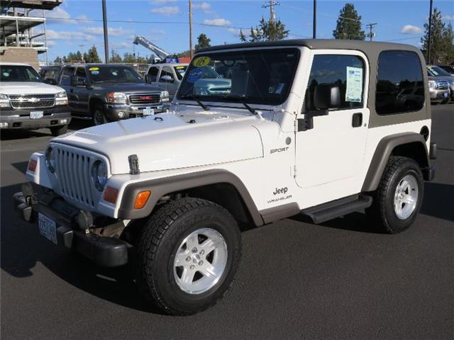 Photo Used 2005 Jeep Wrangler SPORT For Sale Bend, OR